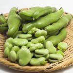 そら豆は皮ごと食べるべき?薄かわに栄養はある?むき方は?